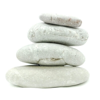 Image of stones, which could cause ripples when thrown into water